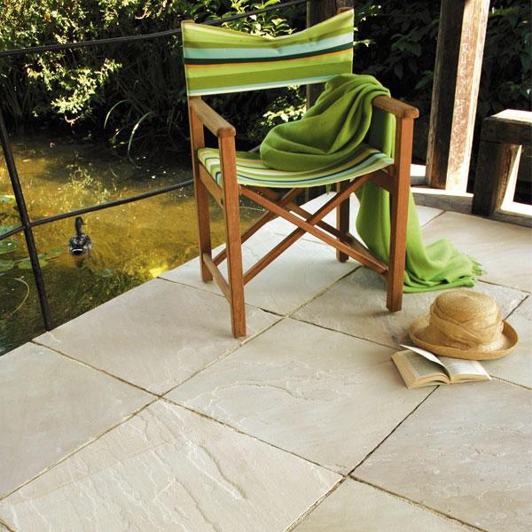 Terrassenplatten Sandstein Mint Antik Naturstein Baumaterial