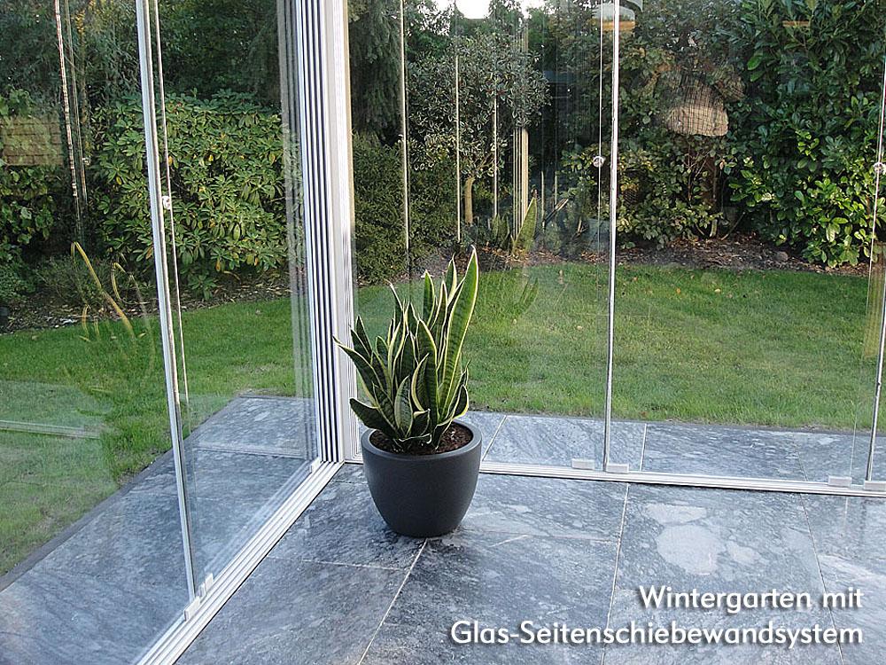 wintergarten profiline 4 00 x 2 50 m dach zaun. Black Bedroom Furniture Sets. Home Design Ideas