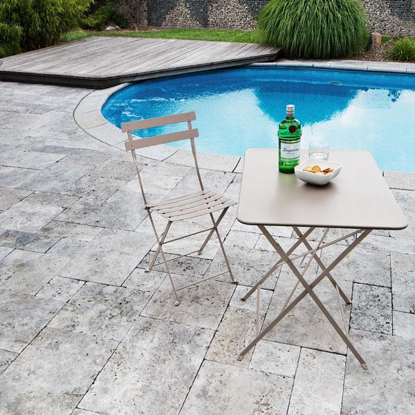 terrassenplatten impr gnieren. Black Bedroom Furniture Sets. Home Design Ideas