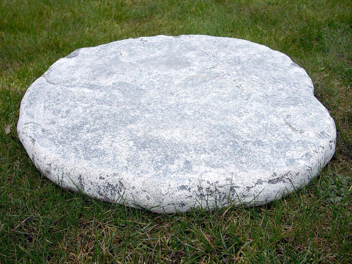 trittplatten blaustein getrommelt<br>Ø ca. 50-60 cm (naturstein