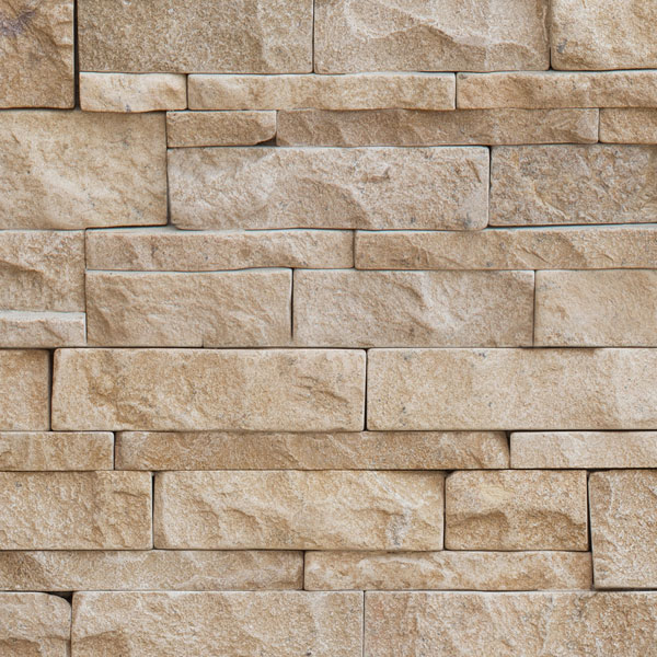 Wandverkleidung Naturstein Paneele : Verblender Kalkstein MIRABELLE (Naturstein Baumaterial)