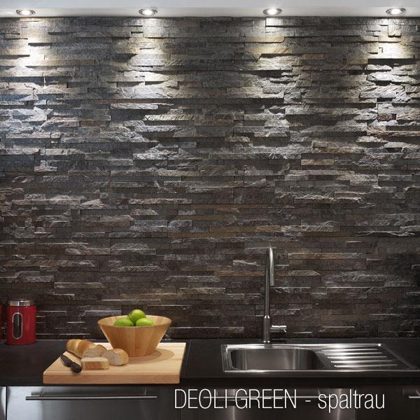 design : verblendsteine wohnzimmer grau ~ inspirierende bilder von ... - Schiefer Wandverkleidung Wohnzimmer