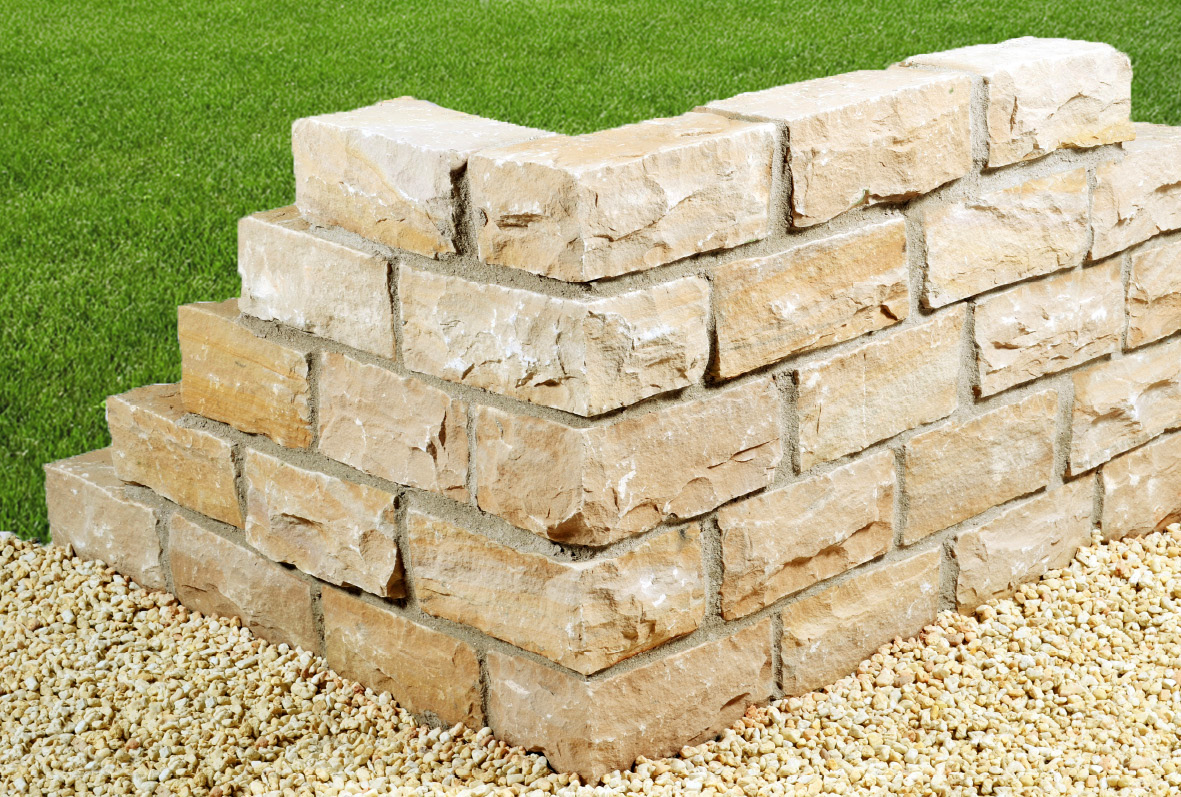 trockenmauerstein sandstein mandra spaltrau naturstein. Black Bedroom Furniture Sets. Home Design Ideas