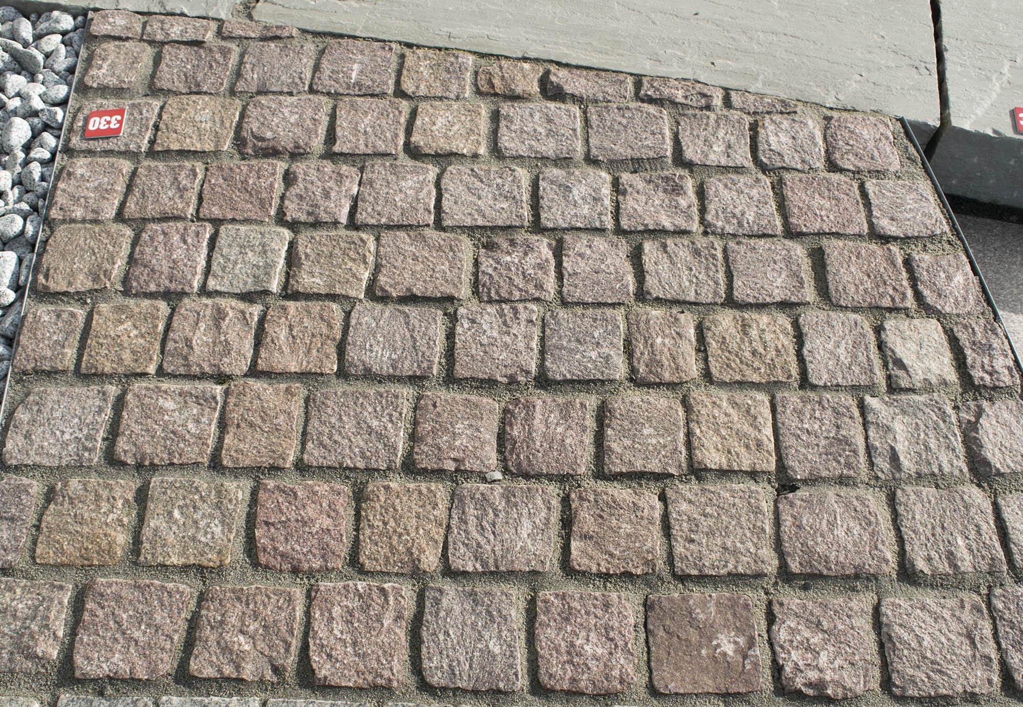 pflasterstein granit manga<br>gespalten (naturstein baumaterial)