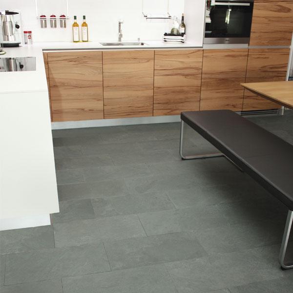 Bodenplatten Schiefer GREYHOUND GREEN (Naturstein Baumaterial