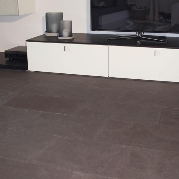 Bodenplatten Schiefer Greyhound Purple Naturstein Baumaterial