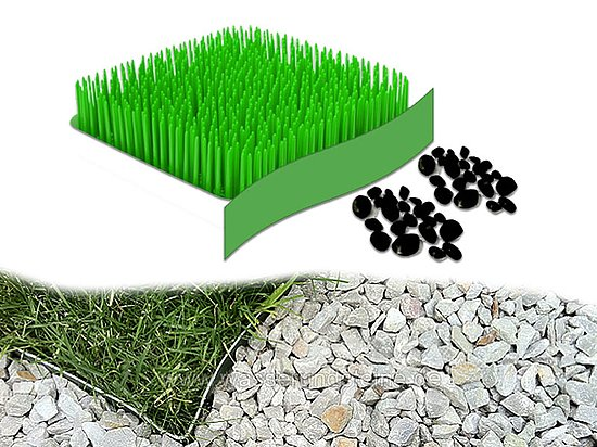 Bild 2 - Grass Barrier 350<br>Flexible Rasenkante