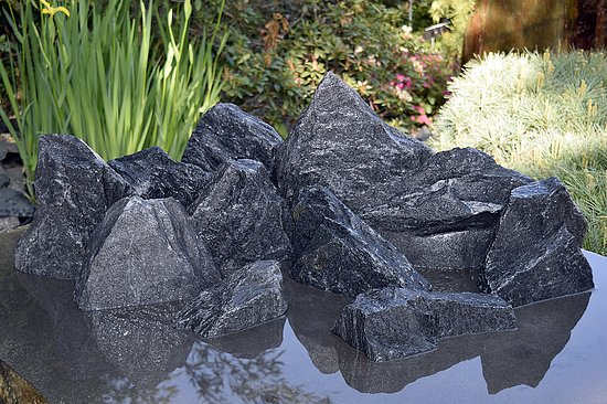 Bild 10 - 11 tlg. Komplettset<br>Freckle Stone<br>Broken Mountains<br>Aqua Landscaping