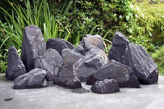 Bild 2 - 12 tlg. Komplettset<br>Purple Rock Mountains<br>Aqua Landscaping