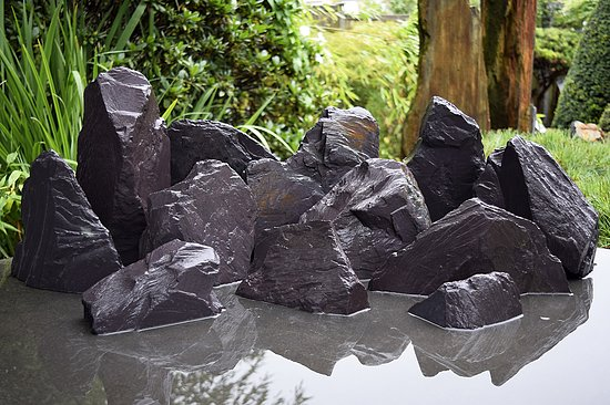 Bild 6 - 12 tlg. Komplettset<br>Purple Rock Mountains<br>Aqua Landscaping