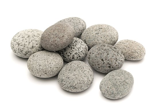 Bild 2 - Beach Pebbles Premium <br>Pacifica Salt & Pepper 50-80 mm