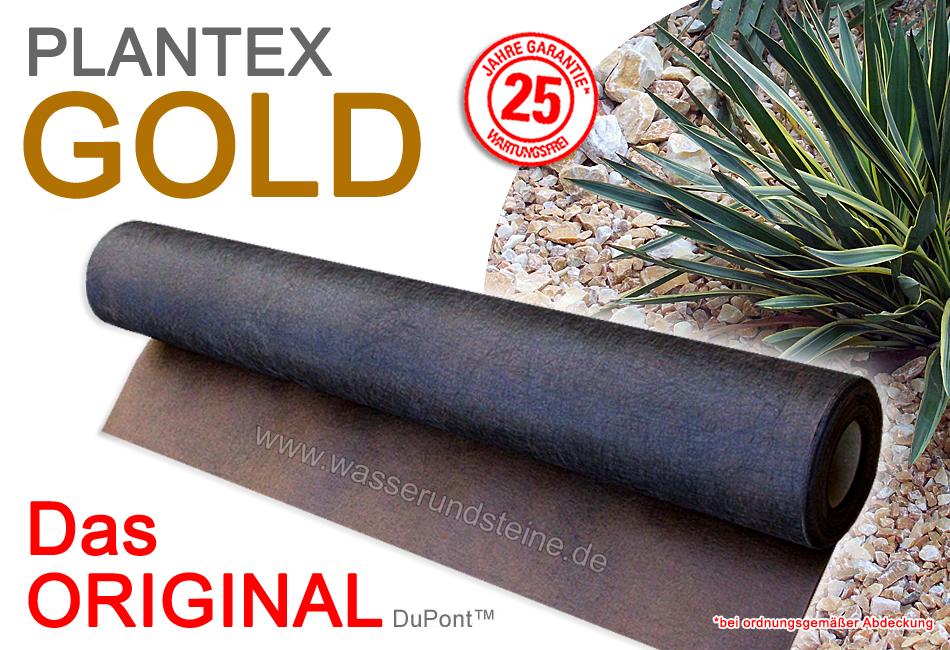 plantex gold unkraut mulchvlies naturstein baumaterial. Black Bedroom Furniture Sets. Home Design Ideas