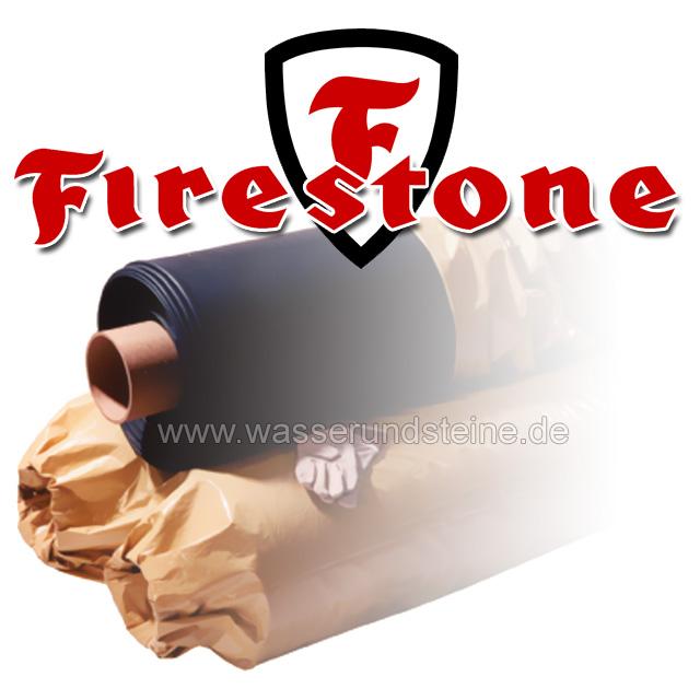 Firestone EPDM Kautschuk Teichfolie Starke 15 Mm