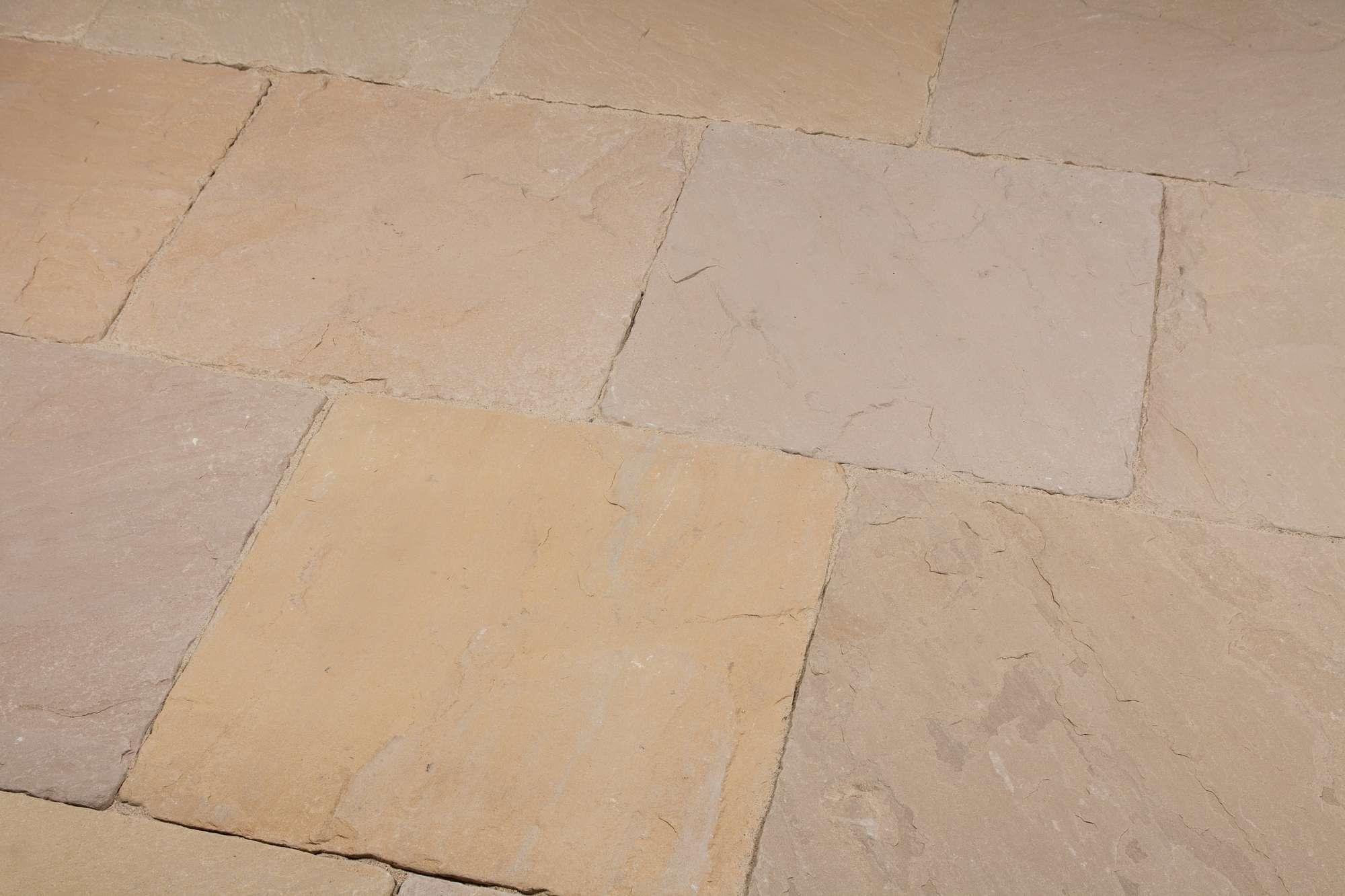 Terrassenplatten Sandstein Mandra Classic Br Satiniert Naturstein