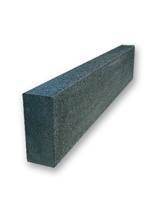 kantenstein basalt anthrazit schwarz satiniert naturstein baumaterial. Black Bedroom Furniture Sets. Home Design Ideas