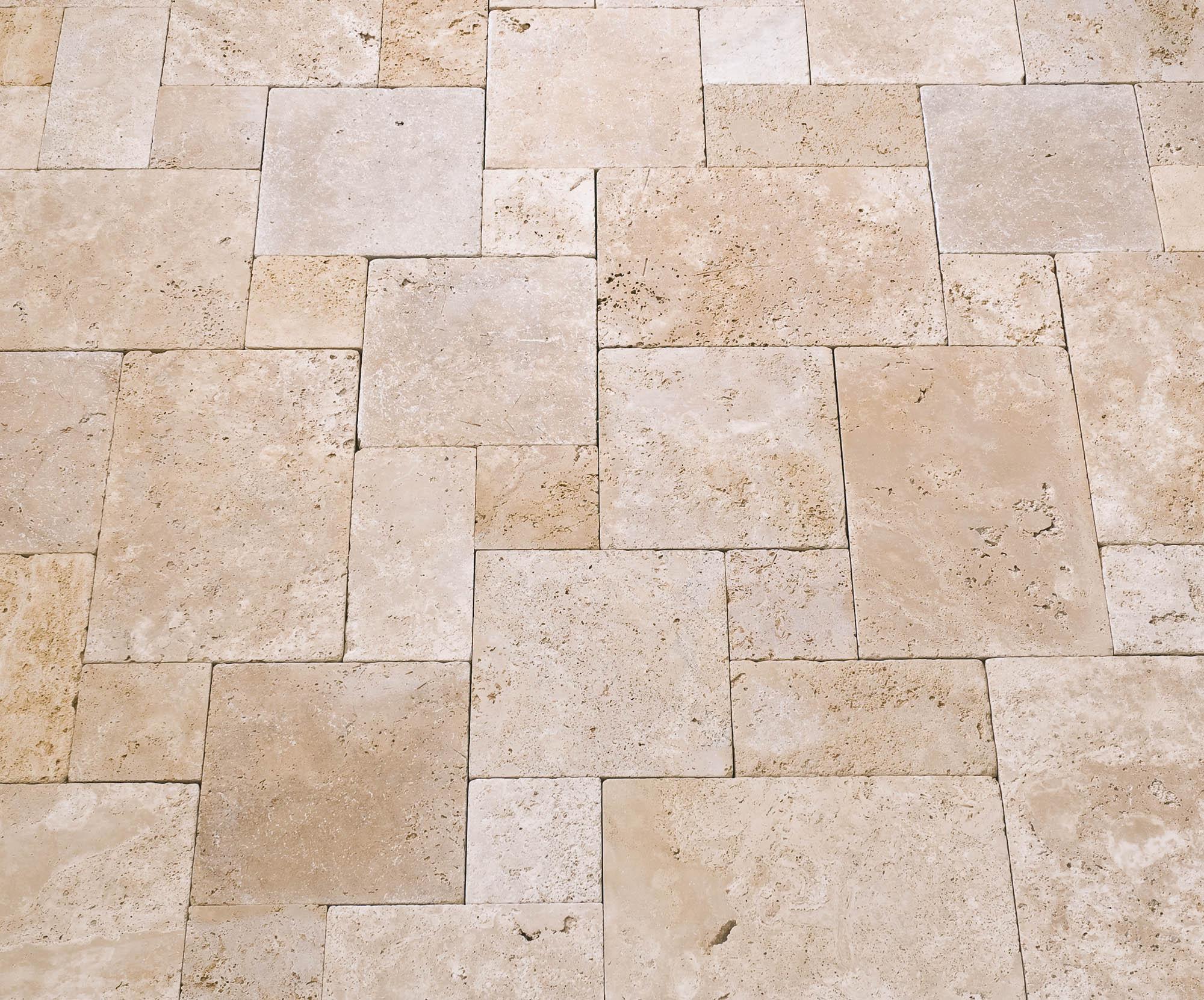 Travertin Terrassenplatten terrassenplatten travertin vanilla naturstein baumaterial