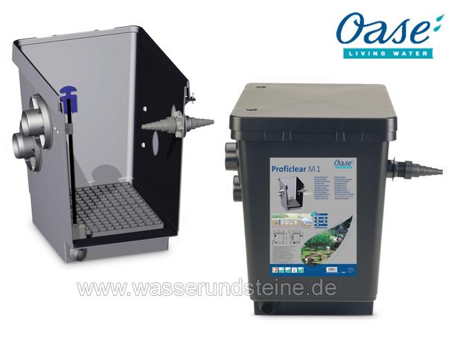 Oase proficlear classic modul 1 pumpenkammer teichbau for Gartenteich oase