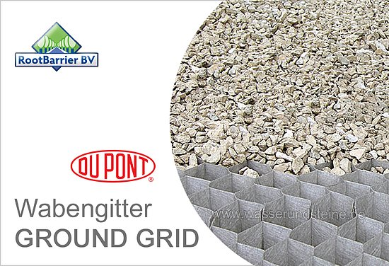 Wabengitter 10 m ground grid stabilisierung von for Dupont ground grid stabilisateur de graviers