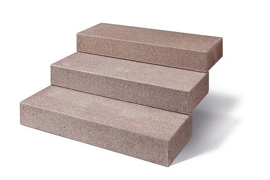 blockstufen zora granit geflammt naturstein baumaterial. Black Bedroom Furniture Sets. Home Design Ideas