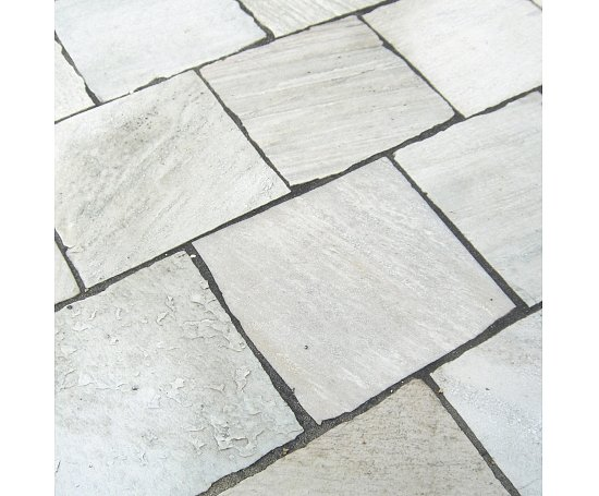 Terrassenplatten Quarzit Rio Dorado Light Br Spaltrau Naturstein