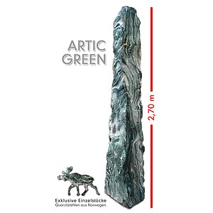 Artic Green Stele<br>Exklusives Einzelst�ck
