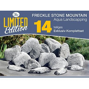 14 tlg. Komplettset<br>Freckle Stone Mountains<br>Aqua Landscaping