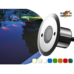 LED Pool-/Teichstrahler<br>Aquaros 5<br>max. 433 Lumen<br>12 V / 5 W (IP 68)