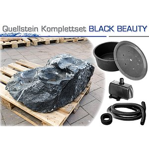 Kaskaden Quellstein<br>BLACK BEAUTY