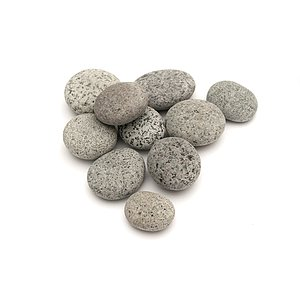 Beach Pebbles Premium <br>Pacifica Salt & Pepper 50-80 mm