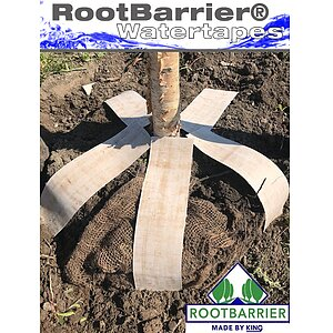 Rootbarrier Watertapes<br>Wasserspeicher Rolle